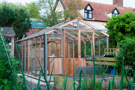 8ft x 18ft Alton Evolution greenhouse