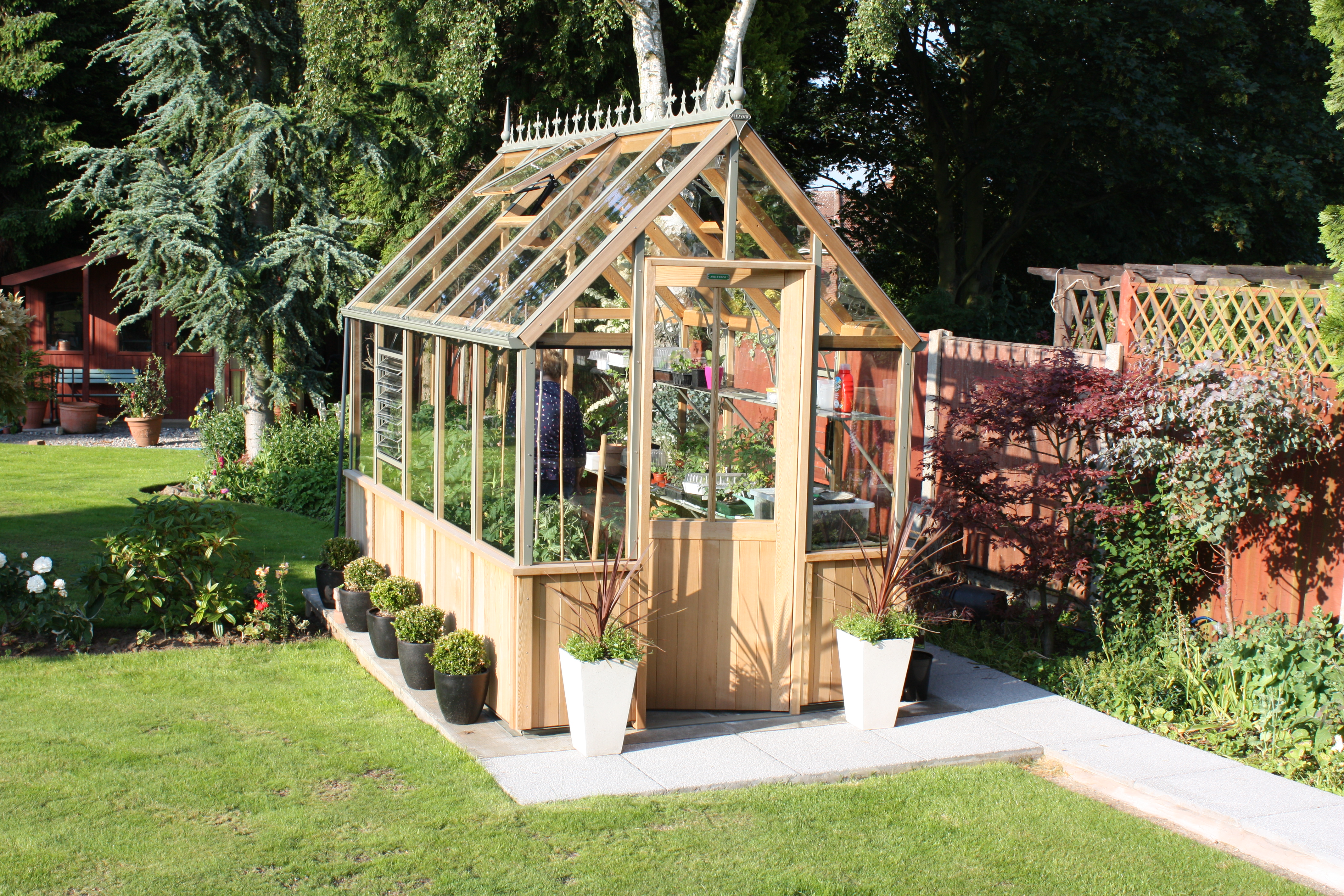 Wooden Greenhouses For Sale Alton Greenhouses Alton